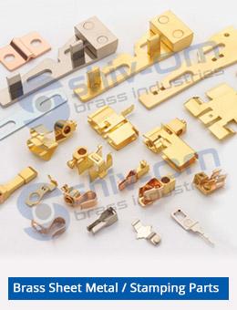 Brass-Sheet-Metal-Stamping-Parts